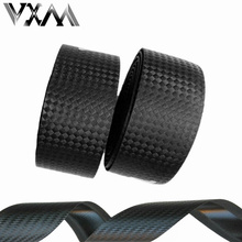 VXM Bicycle Handlebar Tapes Cycling Road Bike Sports Bike Cork Handlebar Tape 2 Bar Plugs Carbon fiber belts strap Bicycle Parts(China)