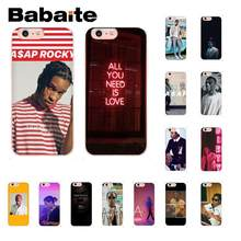 Babaite A $ AP как можно скорее Rocky Lord Flacko Coque Shell чехол для телефона iPhone 8 7 6 S Plus X XS MAX 5 5S SE XR 10 чехлов(Китай)