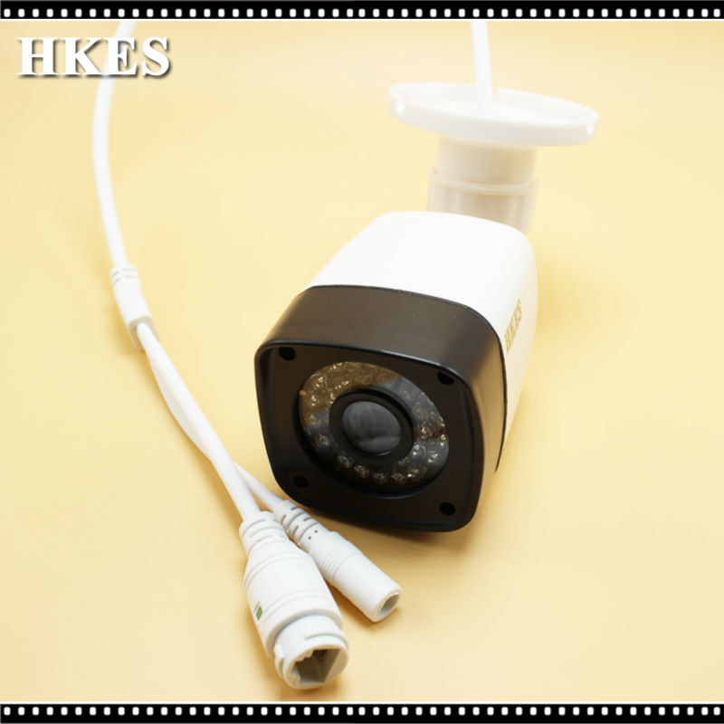 HKES HD 720P Wired Network IP Camera Security Night Vision Cam 30IR LEDs ABS Plastic Outdoor<br><br>Aliexpress