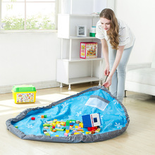 Children's Play Mat Toy Storage bag Large capacity Containers Home Fast Collection Perfect Organizer storage Perfect Gift Bag(China)