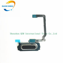 1PCS Original New Home Button Keypad Flex Cable Ribbon Replacement For Samsung Galaxy S5 G900F G900A G900H G900M G900T Phone