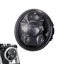 5.75 inch led headlight for harley motorcycle crees Chip 5-3/4 5.75 inch daymaker high beam led headlamp For Harley