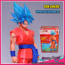Original Banpresto Dragon ball Z Super Structure Vol 1 Fukkatsu No F Super Saiyan God Gokou Goku(China)