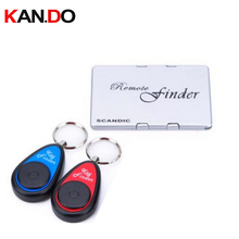 F820 name card shape finder w/ 2 receivers,Long working range remote searching alarm Electronic Key finder anti lost alarm
