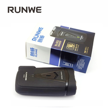 Runwe Rechargeable/Electric Both Work Razor For Men Electric Shavers Mini Black Face Care Shaving Machine RS862