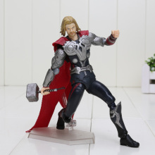 15cm Super hero Avengers Thor Figma 216 PVC Action Figure Model Toy Thor Figure