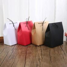 Special Gift Box Leggings Pajamas brown craft gift boxes wedding candy boxes Brown Carton Kraft packaging boxes 3(China)
