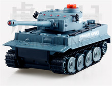 2017 1/32 Infrared Remote Control  Battle RC Tank 2.4Ghz German Tiger Tank New 2.4 G 1:32
