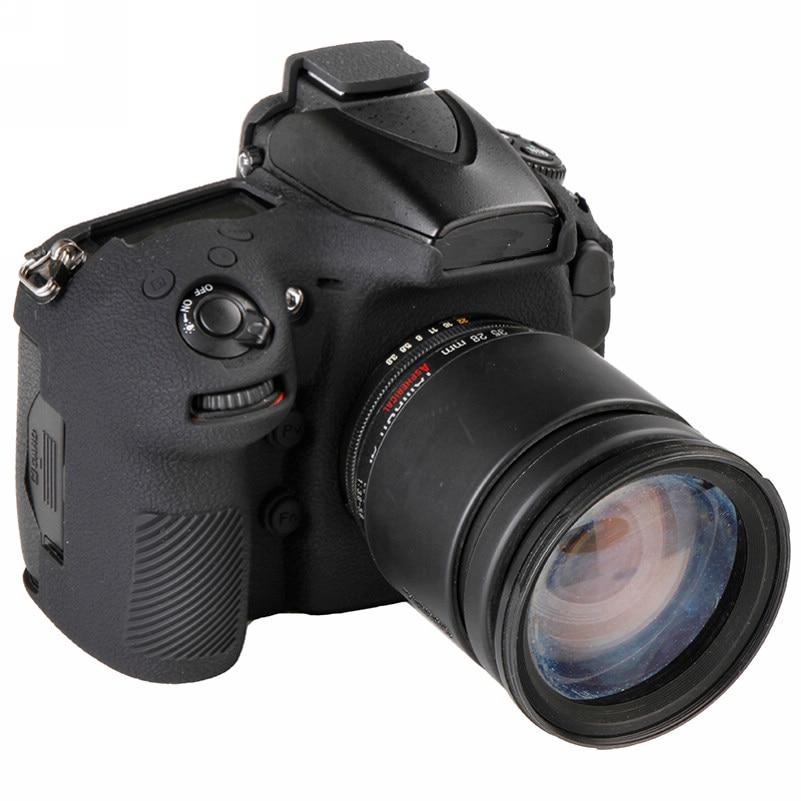 Soft Silicone Rubber Camera Bag For Nikon D810 D800 D850 Protective Body Case Skin DSLR Camera Rubber Cover Bag (3)