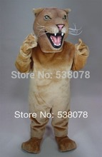 New Lioness Mascot Costume Adult Size Zoo Wild Animal Male Lion King Carnival Party Cosply Mascotte Fit Suit Kit FREESHIP SW1021