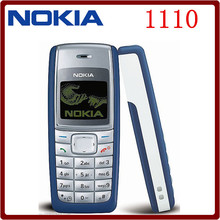 1110 Cheap Original Unlocked Nokia 1110 GSM 2G 1.8`` Refurbished Old Mobile Classic Phone Free Shipping(China)