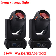 2pcs/lot new product Pro stage sharpy 350w 17r beam spot wash 3 in 1 350w moving head light