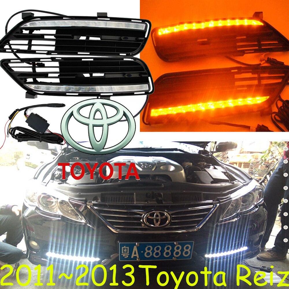 car-styling,2010~2013 Reiz daytime light,led,2pcs/set,Reiz fog light;car-covers,MarkX,chrome, Reiz,Mark X<br>