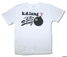 AvatarsStore GILDAN Hip Hop Novelty T Shirts Men's Brand Clothing Kd Lang Siss Boom Bomb On White T Shirt(China)
