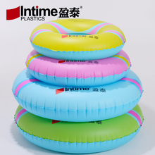Intime Inflatable Swimming Ring Baby Armpit Circle Children's Floating Ring Adult Swimming Circle Life Buoy Thickening(China)