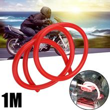 1M Red Motorcycle Dirt Bike Fuel Gas Oil Delivery Tube Hose Line Petrol Oil Suppy Pipe 5mm I/D 8mm O/D