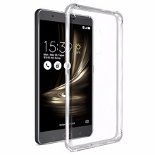 ZenFone 3 Ultra Case Clear Crystal TPU Cover Air Cushion Corner Drop Protection Case For Asus ZenFone 3 Ultra ZU680KL