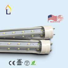 25pcs/lot 5 years warranty 4/5/6/8ft ETL listed T8 LED Tube Lights SMD2835 Led Fluorescent Bulbs AC110-277V T8 led lighting(China)