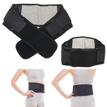 Adjustable Tourmaline Self-heating Magnetic Therapy Waist Support Belt Lumbar Back Waist Support Brace Drop Shipping Wholesale