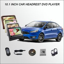 "BigBigRoad For Ford Focus Sedan/10.1"" Car Headrest Monitor Car digital LCD screen Support HDMI IR USB SD DVD Player Games(China)"