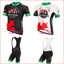 2016 CANADA  cycling jersey green white black new ROAD bicycle bike pro team clothing maillot ropa ciclismo blue gel Mountain