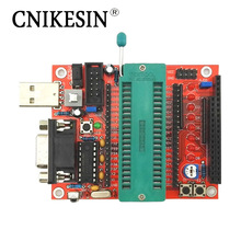 CNIKESIN DIY Kits 51 Singlechip System Board DIY Parts Support at, STC, AVR SCM Development Board(China)
