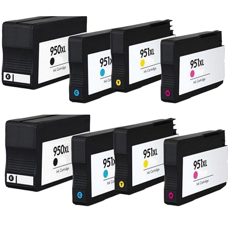8 Compatible Ink Cartridge for hp 950XL 951XL Officejet Pro 8100 8600 8610 8615 8625 8640 8660<br><br>Aliexpress
