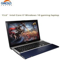 15.6inch Core I7 laptop computer 8GB RAM 500GB HDD & 64GB SSD W/DVD ROM WIFI camera Windows notebook PC(China)