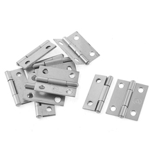 "DSHA New Hot Rectangle Folding Closet Cabinet Door Hinge Hardware 1.5"" 10 Pcs"