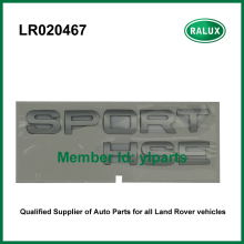 LR020467 rear automobile name plate for Land Range Rover Sport 2010-2013 car brand letter sticker aftermarket parts wholesale