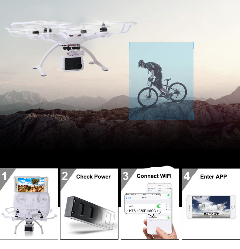 AOSENMA CG035 RC Helicopters WIFI Drone with Camera HD 1080P Quadcopter Gimbal GPS Brushless Motor Follow Me Mode -13