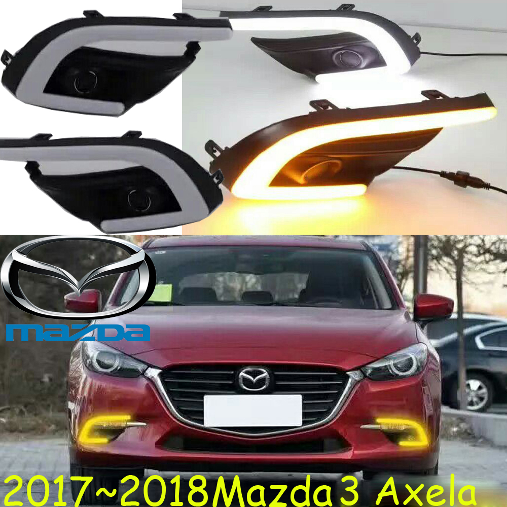 2014~2018,Mazd3 daytime light,Axela daytime light,Free ship!LED,Mazd3 fog light,axela day light,2pcs;atenza,CX-5,CX-9,CX-7,Axela<br>