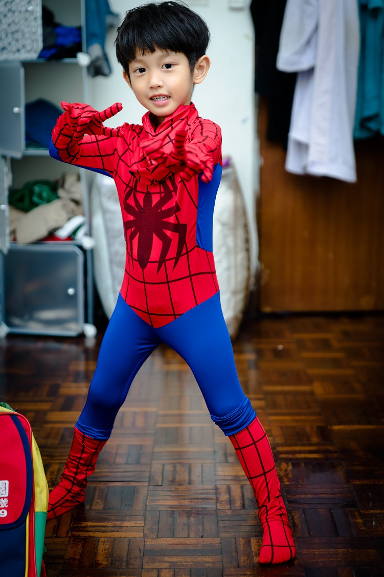 Amazing Children Spider Man Clothes Lycra Tights Hero Costume Anime Cosplay Spider-man Halloween Custumes Kids