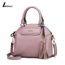 Women Pu Leather Shoulder Bags Female Elegant Chic Handbags Charming Messenger Bags For Ladies Sac A Main Classic Black Tote Bag