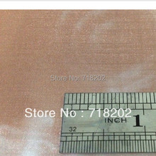 100 mesh*0.1mm 99.9% pure copper wire mesh/copper wire cloth for Aerospace/battery 1mx10m --free shipping