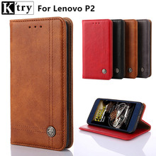 Buy K'try Luxury Leather Flip Cover Case Lenovo P2 Wallet Phone Bag Coque Lenovo Vibe P2 Card Holder for $6.29 in AliExpress store