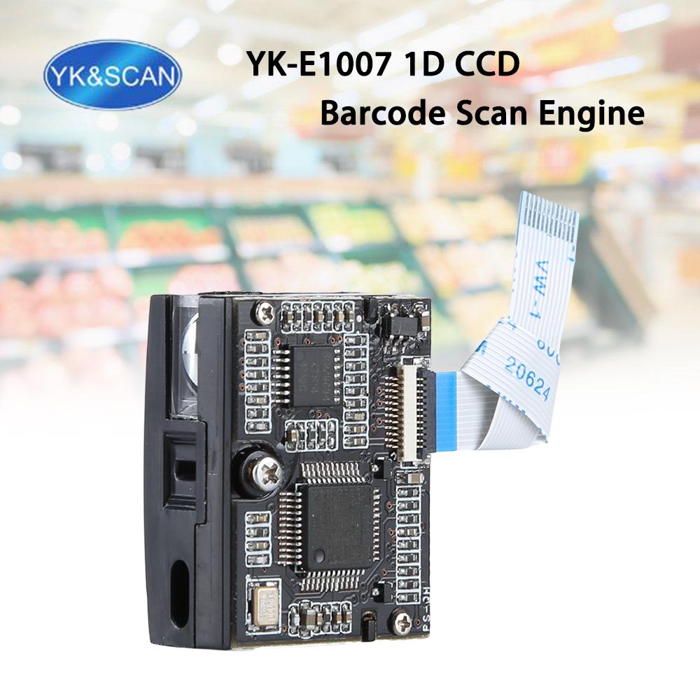 Ykscan E1007 Ccd 1d Laser Barcode Scanner Image Scan Engine Module