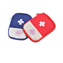 New Mini Pillbox Travel Pill Case Organizer Box Drugs Pill Container Home First Aid Kit Treatment Pack Camping Mini Survival Bag(China)