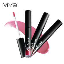 MYS New arrival makeup Liquid tint Lipstick Hot Sexy Colors Lip batom Matte Lipstick Waterproof Long Lasting Lip Gloss Lip Kit(China)