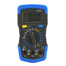 Buy GTBL ANENG DT830L Electrical Tester Digital Voltmeter Ammeter Ohmmeter Multimeter Volt LCD Display Tester Meter for $7.13 in AliExpress store