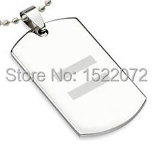 low price  Equality Laser Etched Steel Dog Tag hot sales Gay & Lesbian metal dog tags cheap custom made gay dog tags