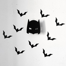 Hot Sale Fashion Cute batman wooden clothes hook for boys room wall decorate children room ECO friendly hanger hook