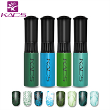 KADS Hot Sale 4pcs/set High Quality stamping nail polish&nail art polish For Nail Art Stamping Print Decorations Tools(China)