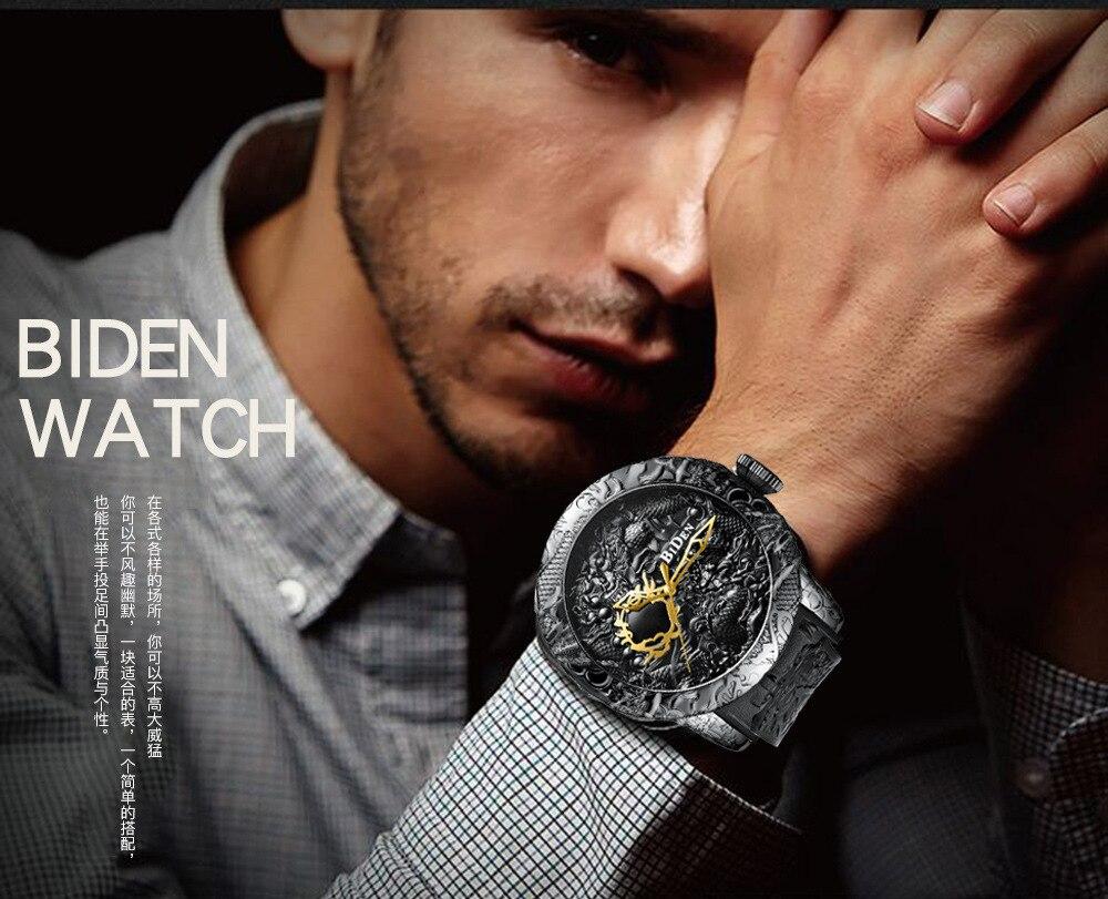 2018-New-Fashion-3D-Sculpture-Dragon-Men-s-Quartz-Watches-Brand-BIDEN-Gold-Watch-Men-Exquisite (4)