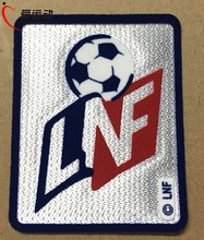 LNF Championnat de France de football Ligue soccer patch FRENCH DIVISION BADGES PATCHES(China)