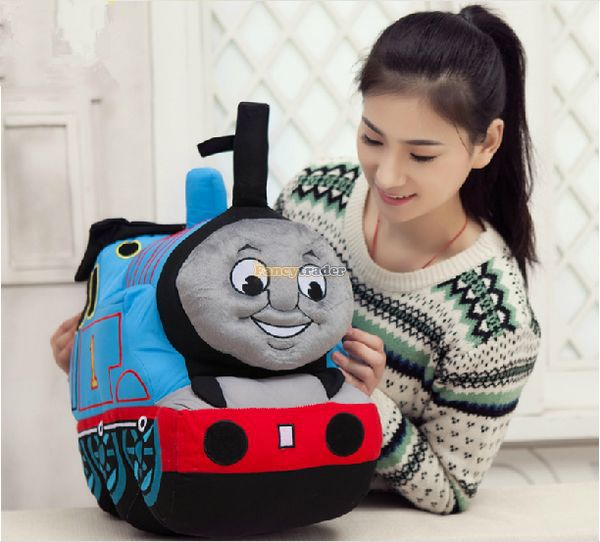 Fancncytrader 29 / 75cm Giant Stuffed Soft Plush Lovely Cartoon Thomasand Friends  the Train Toys for Children<br><br>Aliexpress