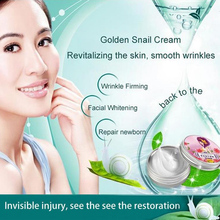 AFY 30g Gold Snail Cream Moisturizing Whitening instantly ageless Freckle removing Anti wrinkle snail face Care Beauty products