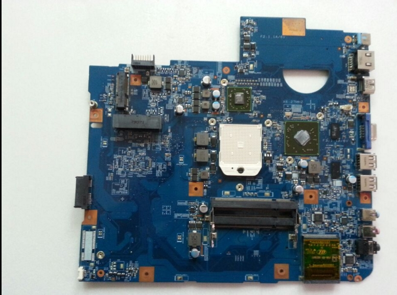 5536 5536G LA-6631P connect with printer motherboard tested by system lap lap connect board<br>