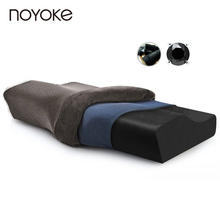 Noyoke 50*30*10-6 Slow Rebound Memory Foam Pillow Cervical Health Care Orthopedic Bamboo Charcoal Magnetic Therapy Pillow(China)