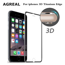 Aluminum alloy Tempered glass Coque case For Apple iphone 6 6S 7 plus Fundas Accessories Full screen coverage cover 5 5S SE 5C(China)